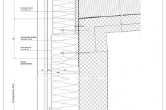 Vertikalschnitt Fassade Hallenbad