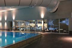 Fenster EI30-IV Restaurant-Schwimmhalle