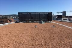 Einhausung Technik Dach