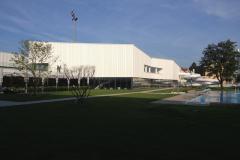 Ansicht Südwest Hallenbad