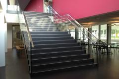 Haupttreppe Hallenbad
