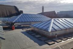 Glasdächer mit Dreifachglas und RWA